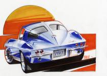 63 Corvette Split window