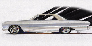 "63 Chevy Impala - ""Corpala"" - rear view"