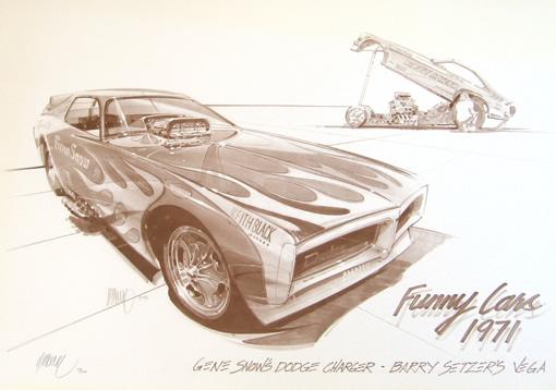 Gene Snow Funny Car