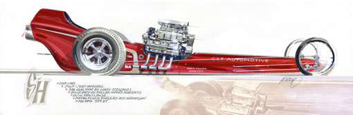 S & H Dragster
